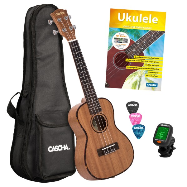 Ukulele HH 2036 Konzert Bundle