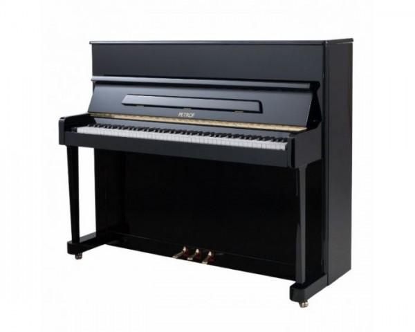 PETROF Modell 118 P1 schwarz-poliert